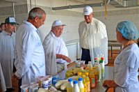 В районе с ознакомительным визитом побывала делегация из Бакалинского района