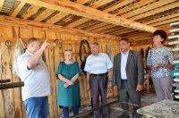 Сегодня с рабочим визитом наш район посетила делегация из Аскинского района