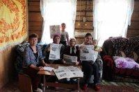 """Жители района в период декады активно выписывают газету """"Караидель"""""""