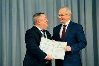 Премьер-министра Правительства РБ Р.Марданов вручил главе района Диплом за высокие показатели в сельском хозяйстве