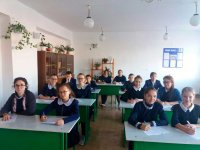 Географический диктант в районе написали 65 школьников