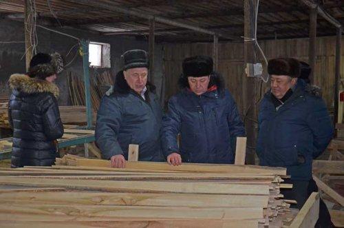 С рабочим визитом в районе побывал министр лесного хозяйства РБ М.Шарафутдинов