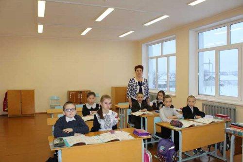 В обновленной Байкибашевской СОШ начались занятия