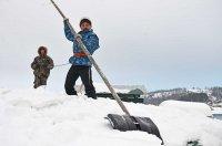 ООО «Комфорт+» занято очисткой крыш от снега