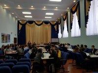 30 января в актовом зале Караидельской школе № 1 прошла интеллектуальная игра «Что? Где? Когда?»