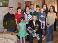 Ветеран Великой Отечественной войны Т.Фатхуллин отметил 99-летний день рождения