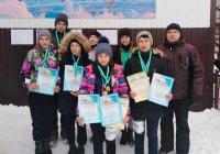 Учащиеся Караидельской СОШ №1 заняли первое место в соревнованиях по спортивному ориентированию на лыжах