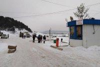 Грузоподъемность ледовой переправы на р.Уфа снижена до 8 тонн