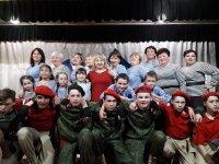 Жители с.Абызово благодарят организаторов концерта к 23 февраля