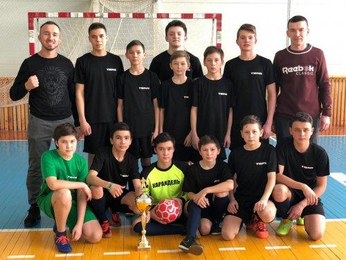 В ФОК «Олимпиец» состоялся Кубок спонсоров по мини-фуболу